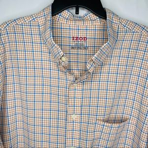 IZod Short Sleeve Button Down Shirt Sz. 2XLT